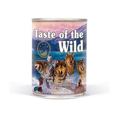 Lata Taste of the Wild Wetlands Canine Formula 390 gr