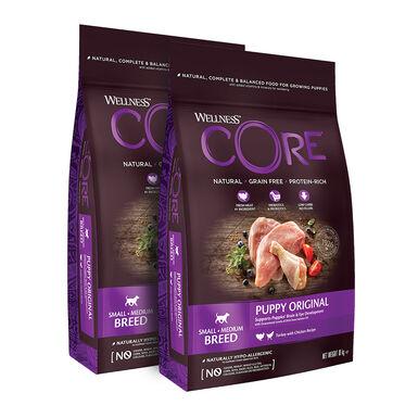 Wellness Core para puppy - 2x10 kg Pack Ahorro