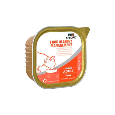 Pack 7 Tarrinas Specific FDW Feline Allergy Management 100 gr