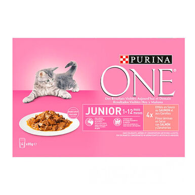 Purina One Cat junior 4 x 85 gr