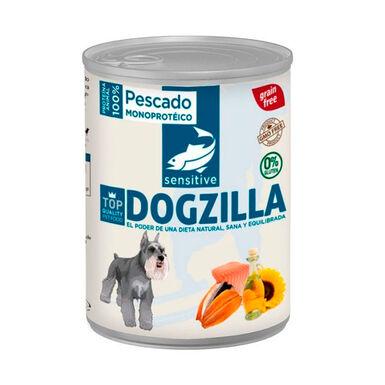 Lata Dogzilla pescado para perro 750 gr