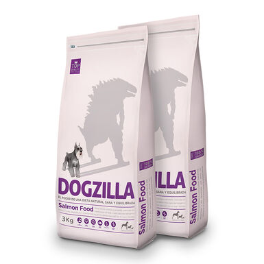 Dogzilla Adult Salmón - 2x3 kg Pack Ahorro
