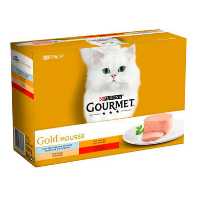 Packs Gourmet Gold Mousse 12 x 85 gr