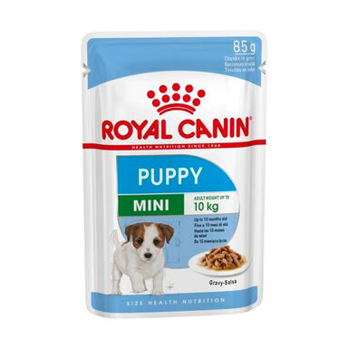 Pack 12 Pouches Royal Canin húmedo Mini Puppy 85 gr