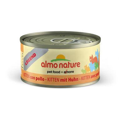 Pack 24 Latas Alimento húmedo Almo Nature Legend Kitten 70 gr
