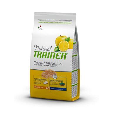 Natural Trainer Adult Mini pollo, arroz, yuca y alga espirulina 2 kg