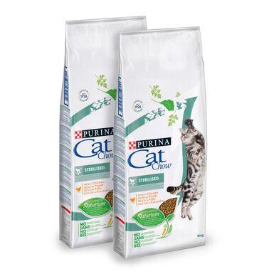 Cat Chow Sterilized - 2x15 kg Pack Ahorro