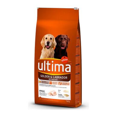 Affinity Ultima Medium / Maxi Golden & Labrador con Pollo pienso para perros 14 kg