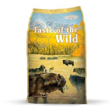 Taste of the Wild High Prairie bisonte y venado 12,2 kg