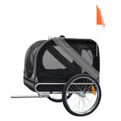 Flamingo transportín con remolque para bicicleta