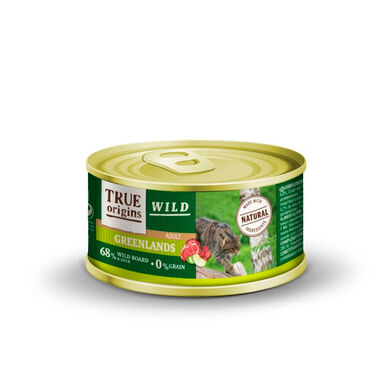 True Origins Wild Feline lata Greenlands 100 gr