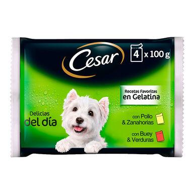 Cesar Multipack Selección en gelatina