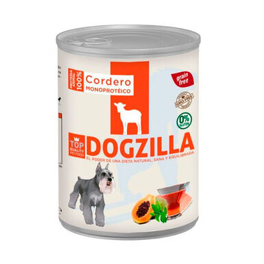 Lata Dogzilla para perro 400 gr