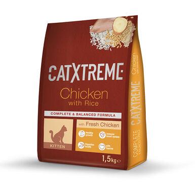 Catxtreme Kitten Comida con pollo y pavo para gatitos
