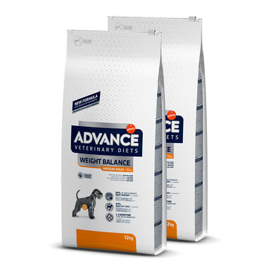 Affinity Advance veterinary Diets Weight Balance - 2x12 kg Pack Ahorro