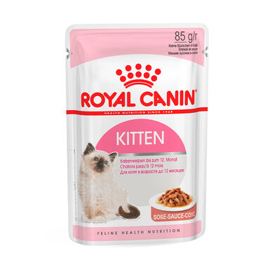 Pack 12 Sobres Royal Canin Feline Kitten Instinctive 85 gr