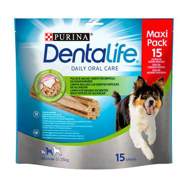 Pack Snacks Dentalife Perro Razas Medianas 345gr