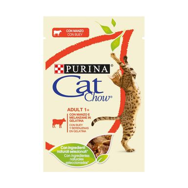 Sobres Cat Chow gato adult 85 gr