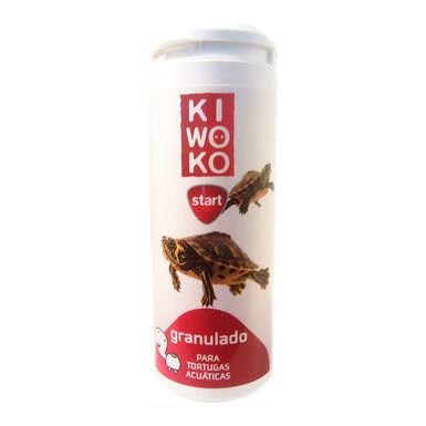 Granulado para Tortugas Acuáticas Kiwoko Start 250 ml