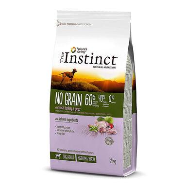 True Instinct No Grain Adult Medium pavo
