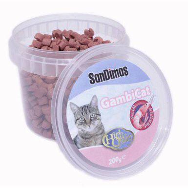 SanDimas Gambicat chuches para gatos 200gr