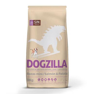 Dogzilla Salmón Sin Cereales Mini Grain Free - 2x3 kg Pack Ahorro