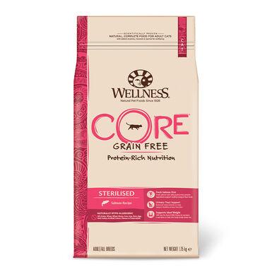 Wellness Core Gato Sterilised salmón 1,75 kg