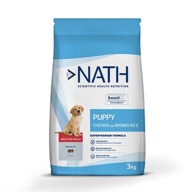 Pienso para cachorros Nath Puppy Medium / Maxi