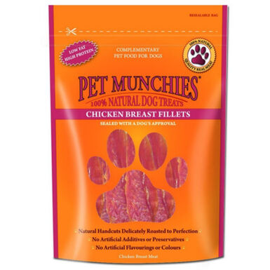 Pet Munchies chuches Chicken Breast para perros