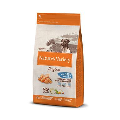Nature's Variety Original Sin Cereales Mini Adult Salmón