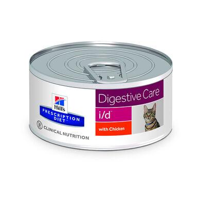 Hill's Precription Diet Feline Lata i/d en trocitos con pollo 156 gr