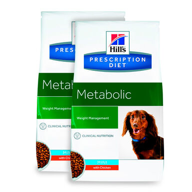 Hill's Prescription Diet Metabolic Mini - 2x6 kg Pack Ahorro