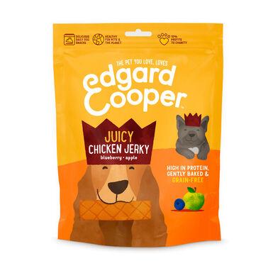 Edgard & Cooper Juicy Jerky Snack para Perros 150 gr