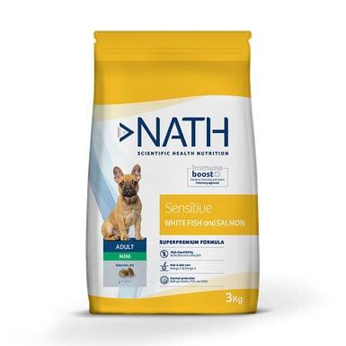 Pienso para perros Nath Adult Sensitive Grain Free Mini