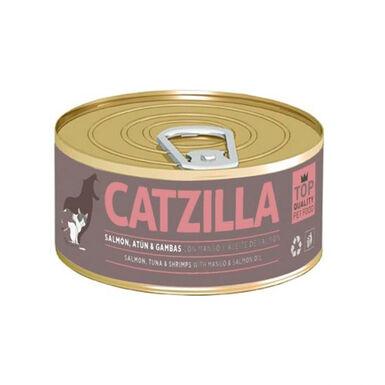 Lata Catzilla pescado para gato 90 gr