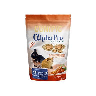Snacks de malta Alpha Pro para roedor 50 gr