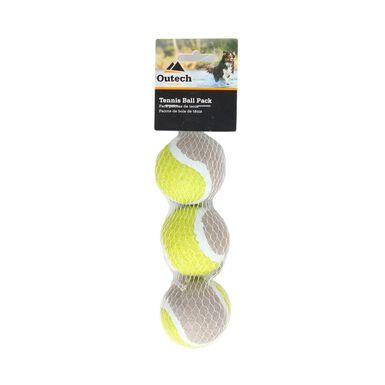 Pack x 3 pelotas de tenis Outech para perro