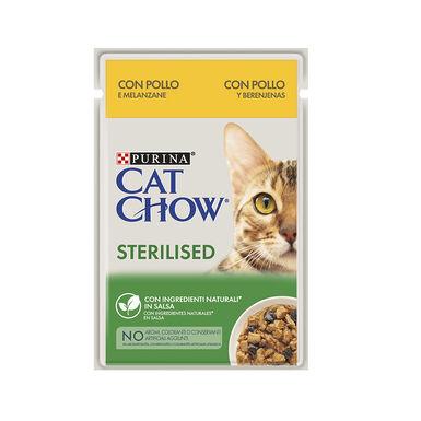 Cat Chow comida húmeda para gato esterilizado 85 gr