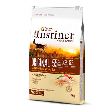 True Instinct Original Feline Adult con pollo y arroz integral
