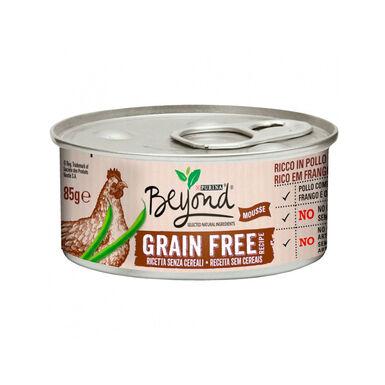 Pack 12 Latas para gatos Beyond Grain Free 85 gr