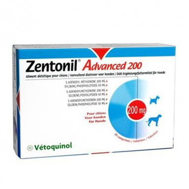Vetoquinol Zentonil Advanced para perros hígado