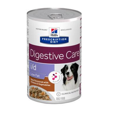 Lata para perros Hill's Prescription Diet i/d Low Fat Digestive Care 354 gr