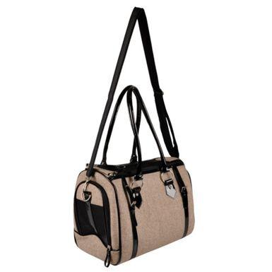 Cilou bolso para perros pequeños y gatos marrón