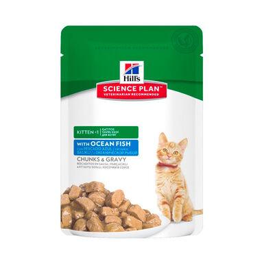 Hill's Feline Kitten Bolsitas tiernos bocaditos en salsa 85gr