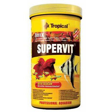 Tropical Supervit alimento en escamas para peces
