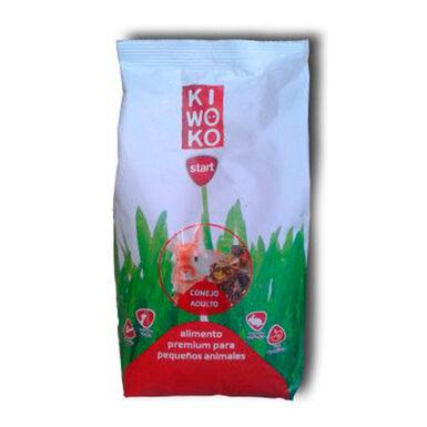 Alimento Premium para Conejo Adulto Gama Kiwoko Start 800 gr
