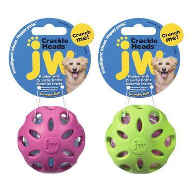 JW Dog pelota de caucho crujiente para perros