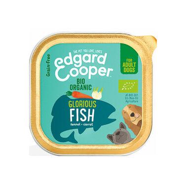 Edgard & Cooper Tarrina Organic Pescado 100gr