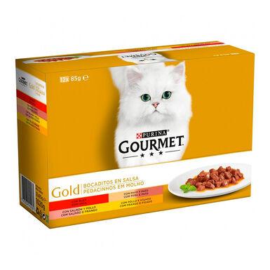Gourmet Gold Bocaditos en salsa surtido 12 x 85 gr
