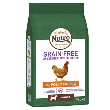 Nutro Grain Free adulto mediano pollo